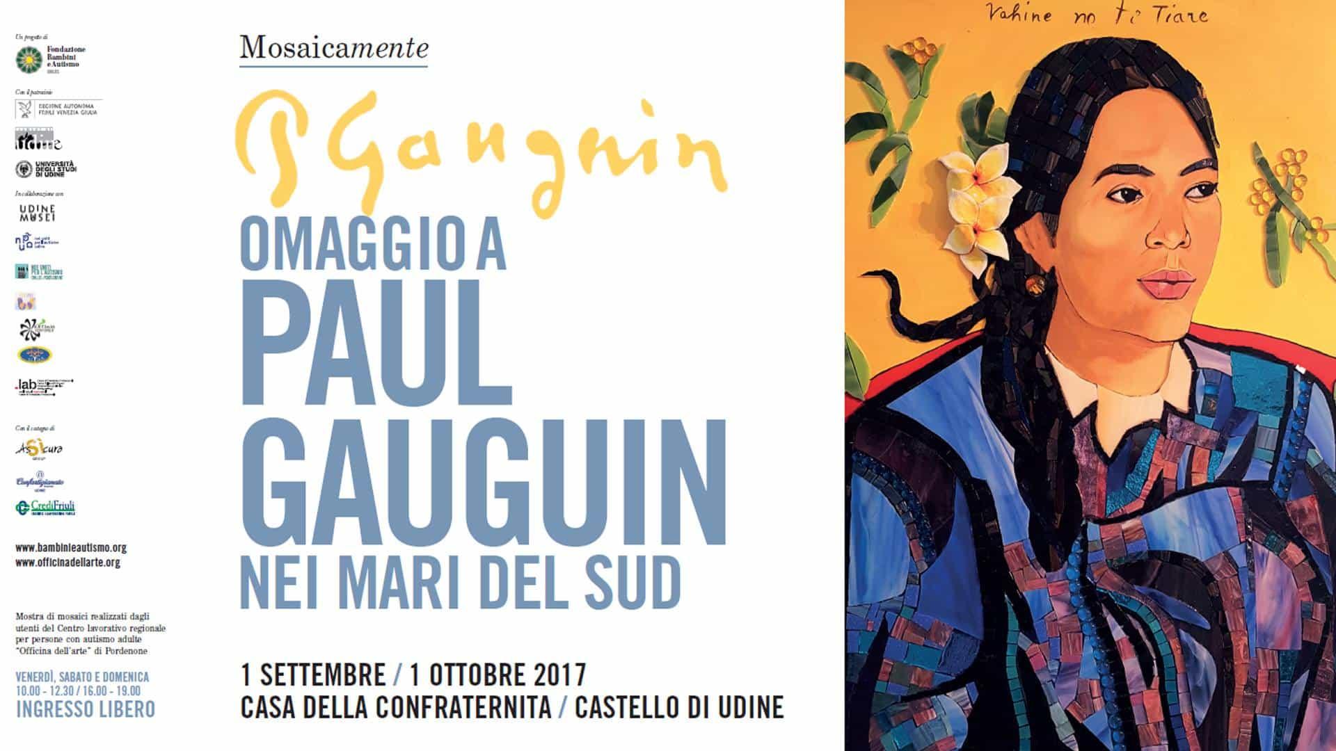 Mosaicamente omaggio a paul gauguin art hotel udine for Casa moderna udine 2017 orari