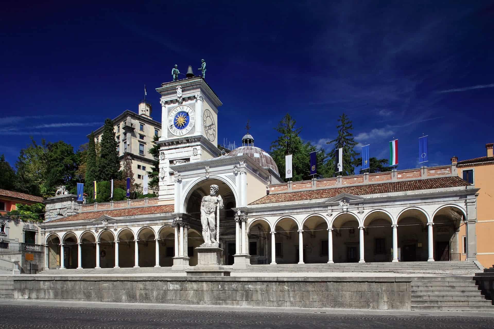 Piazza Libertà a Udine